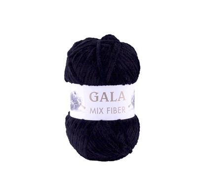 Изображение Плюшевая пряжа Gala (черный)