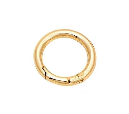 Изображение Кольцо-карабин 33мм (золото)