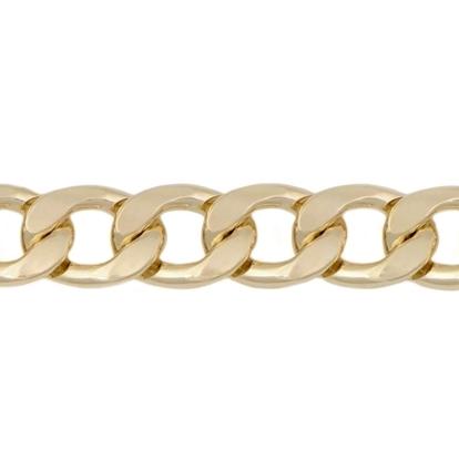 Изображение Цепь 13 мм , панцирное плетение (золото)
