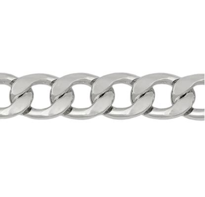 Изображение Цепь 13 мм , панцирное плетение (никель)