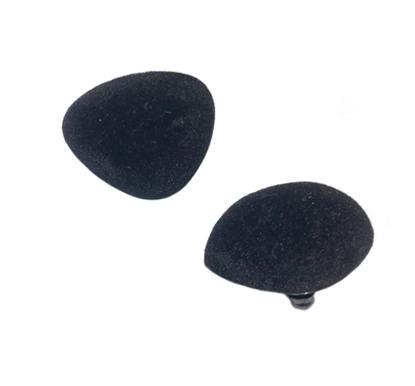 Изображение Нос  для игрушек черный  (29х37мм)