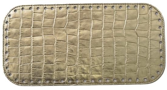 Изображение Дно для сумки   Gold python (Золотая змея)