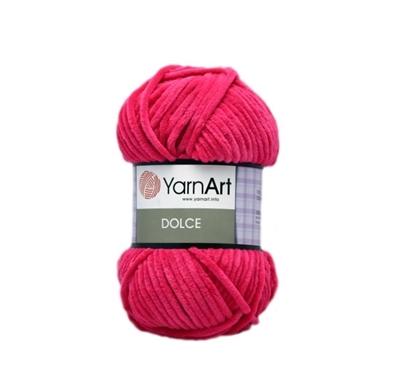 Изображение Плюшевая пряжа Yarn Art (759) малина