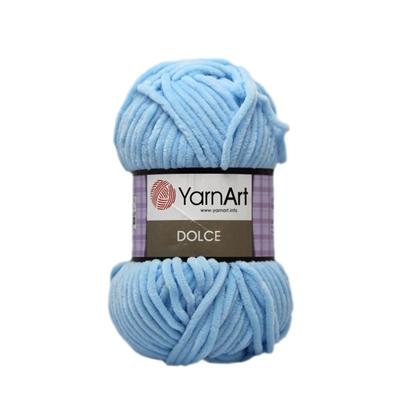 Изображение Плюшевая пряжа Yarn Art (749) светл. голубой