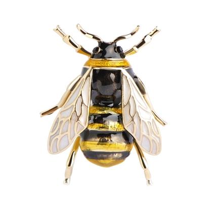 Изображение Брошь Пчела (металл)