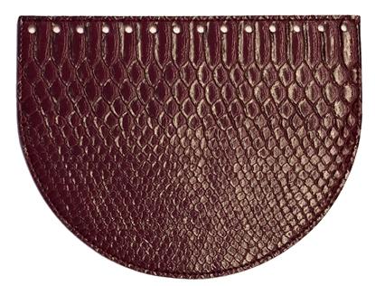 Изображение Крышка-клапан овал  Бордо (питон)