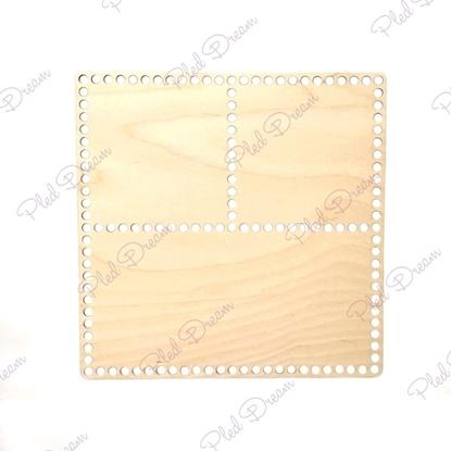 картинка донышко для корзины квадрат на 3 секции , купить  донышко для вязания