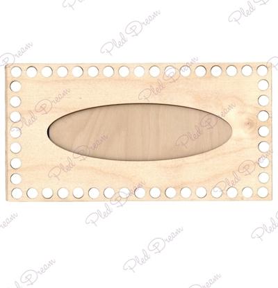 картинка набор донышек из фанеры для салфетницы , заготовка из фанеры
