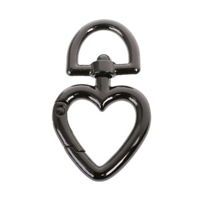 картинка карабин в виде сердца для ручки  сумка