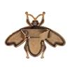 картинка пчелка металлическая в цвете бронза сумочный декор