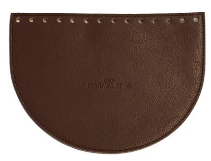 картинка крышка овал для сумки из экокожи, фурнитура для вязаной сумки