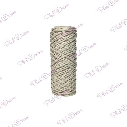 картинка купить шнуры для вязания из хлопка , цвет: крем 3 мм