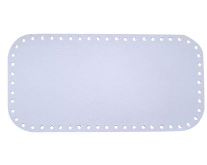 картинка донышко для сумки из экокожи. цвет  светло-голубой