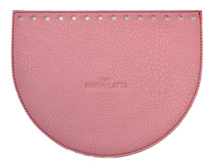 картинка клапан для сумки экокожа цвет розовый