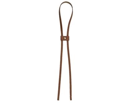 картинка утяжка кожаная для торбы и  рюкзака , купить утяжку из эко кожи для вязаной сумки
