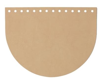 картинка кожаная фурнитура для вязаных сумок, купить крышку для сумки из трикотажной пряжи