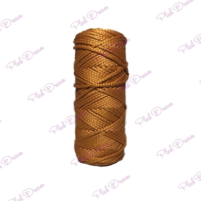 картинка из полиэфирного шнура крючком вязание сумка, авоська, корзинка, ловец снов, шнуры  в Москве цвет:  терракотовый