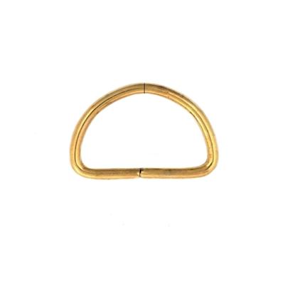 картинка полукольца металл цвет: золото в наличии, полукольца для ремешков 25мм купить с доставкой