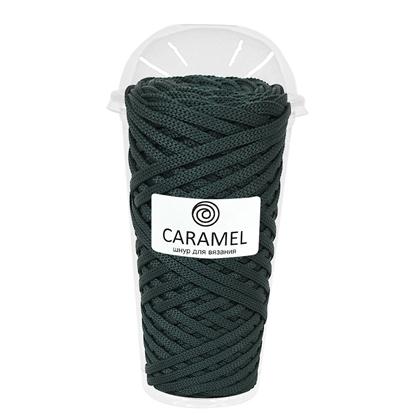 картинка купить полиэфирный шнур Карамель цвет: кактус по выгодной цене с доставкой