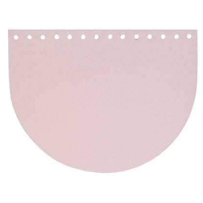картинка крышка-клапан овал для вязаной сумки , цвет: лиловое саше, купить недорого фурнитуру для вязания