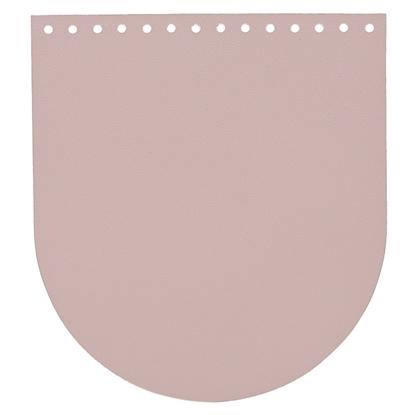 картинка крышка из экокожи для вязаного  рюкзака, цвет: лиловое саше купить по лучшей цене