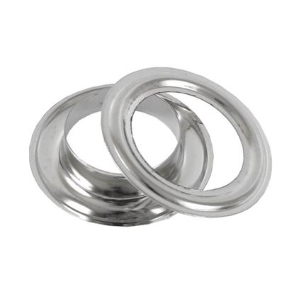 картинка люверсы металл цвет: никель, внутренний диаметр 20мм в наличии купить
