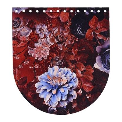 картинка крышка из экокожи с принтом для вязаного рюкзака из шнура, из трикотажной пряжи в наличии крышка Marmelatta