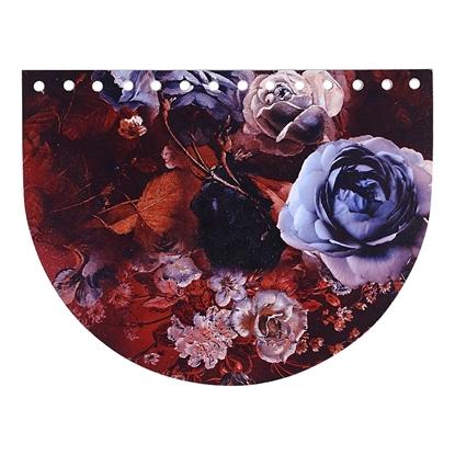 картинка крышка Marmelatta лимитированная серия с принтом, цвет: леди браун в наличии , размер 15х20см