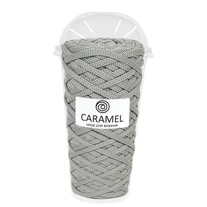 картинка шнур полиэфирный Caramel (Карамель) 5 мм в наличии цвет: светло-серый, Кельн