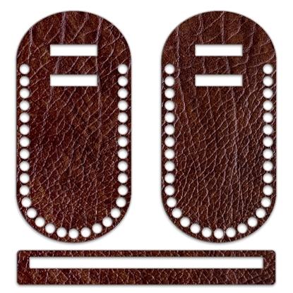 картинка каркас  -набор для вязания летних сумок и клатчей с принтом кожа, купить недорого с доставкой