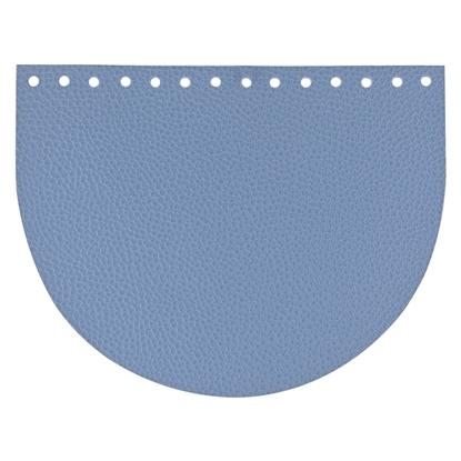 картинка Крышка для вязаной сумки в наличии с доставкой недорого, цвет: джинс из экокожи