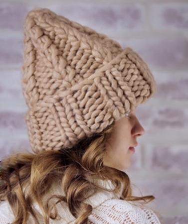 Изображение для категории Женские вязаные шапки