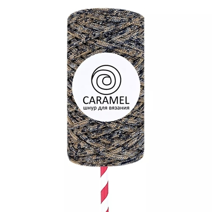 картинка шнур Caramrl (Карамель) микс 1 лимитированная серия . полиэфирный шнур 5мм