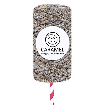 картинка шнур Карамель (Caramel) 5 мм полиэфирный шнур меланжевый, микс 8