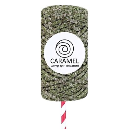 картинка шнур полиэфирный 5мм Caramel (Карамель) микс 12 в наличии в Москве