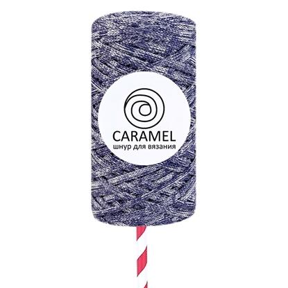 картинка полиэфирный шнур Caramel (Карамель)  микс 19 в наличии с доставкой по Москве