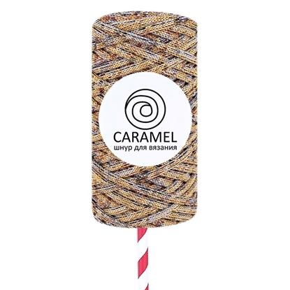 картинка качественный полиэфирный шнур 5 мм Caramel (Карамель) цвет: микс 2 купить в Москве