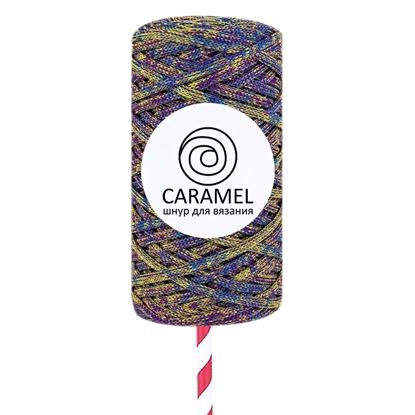 картинка недорого полиэфирный шнур Caramel (Карамель) микс 21 в наличии