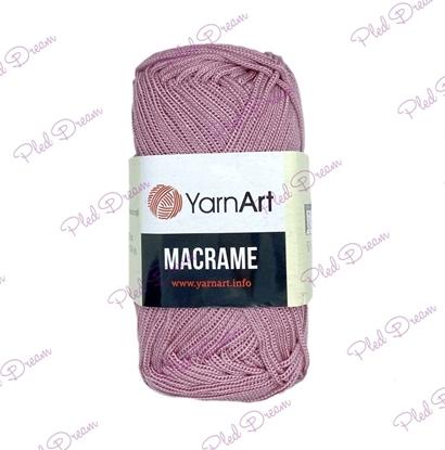 картинка шнур для макраме 2мм  YarnArt Macrame 141 цвет: пыльная роза Москва