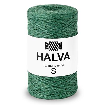 картинка джут цветной Halva (халва) , цвет: алоэ, травяной зеленый купить недорого