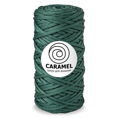 картинка шнур полиэфирный Карамель (Caramel) 5 мм, цвет: можевельник