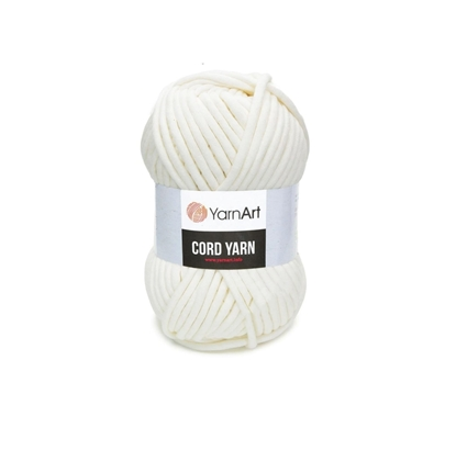картинка yarnart cord yarn цвет: 752 (пломбир)