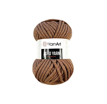 картинка YarnArt Cord Yarn 788  цвет: корица, светло-коричневый