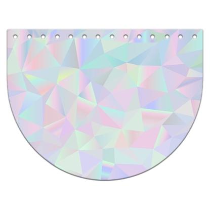 картинка  фурнитура из экокожи крышка овал для вязаной сумки с принтом  , цвет: дисней