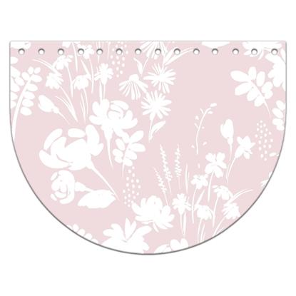 картинка крышка-клапан из итальянской экокожи с нежным принтом, цвет:  Ксения светло-розовый