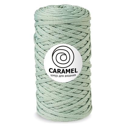 картинка шнур полиэфирный Caramel 5мм цвет: пыльная мята недорого в Москве с доставкой