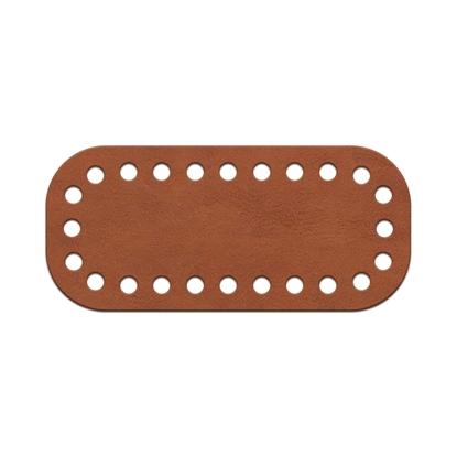 картинка донышко для мини сумочки, мини клатча из экокожи, размер:5х11см , цвет: фундук
