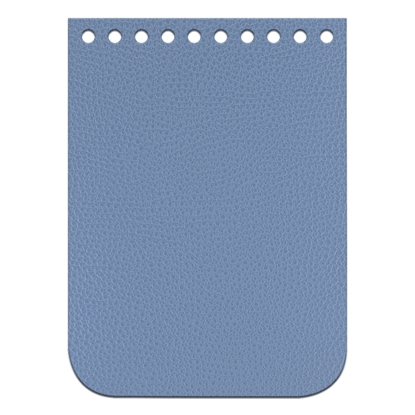 картинка крышка-клапан для вязаной мини-сумки через плечо, цвет: джинс, размер: 11х15см заказать с доставкой