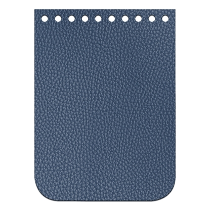 картинка мини-клапан  крышка для сумки из трикотажной пряжи и хлопкового шнура, цвет: лондон, темно-синий, размер: 11 х 15 см,  купить с доставкой