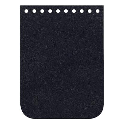 картинка кожаная крышка-клапан для мини сумочки вязаной крючком из полиэфирного шнура, цвет: Midnight blue, темно- синий, размер: 5х11см в наличии Москва